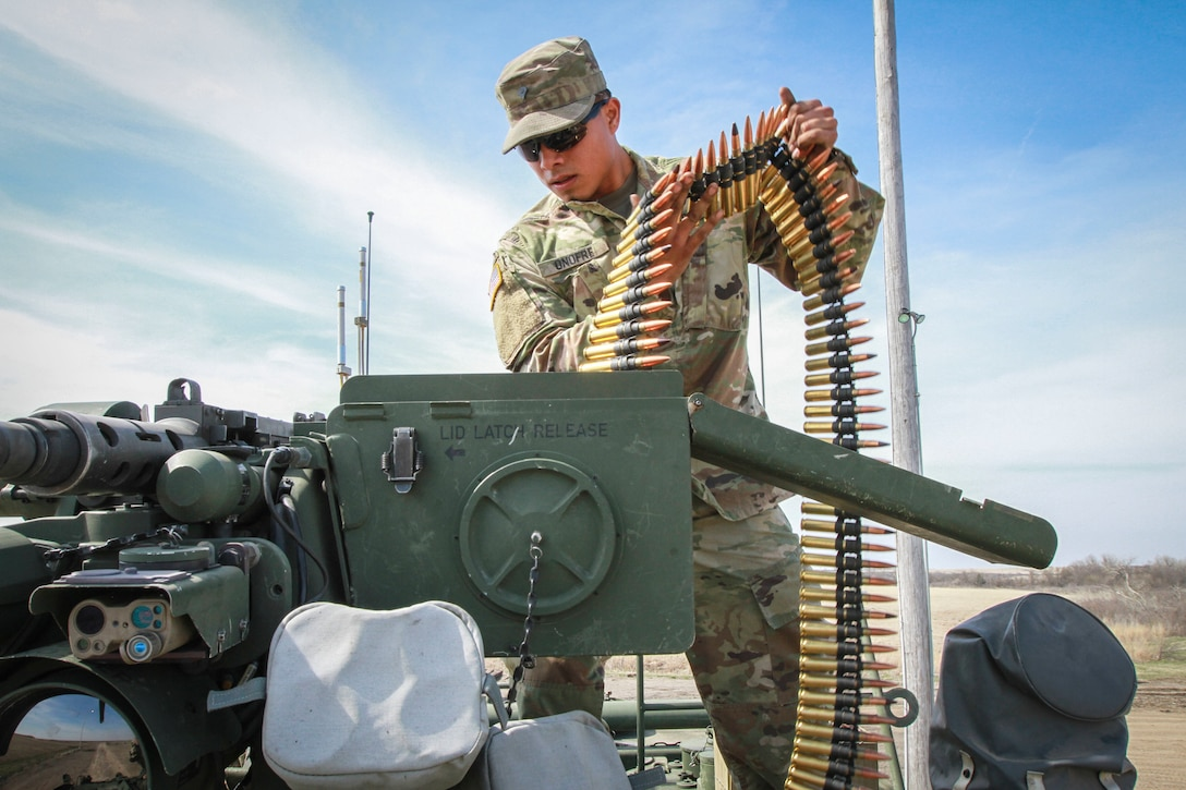 Army Reserve Soldiers increase battlefield lethality during Operation Gauntlet