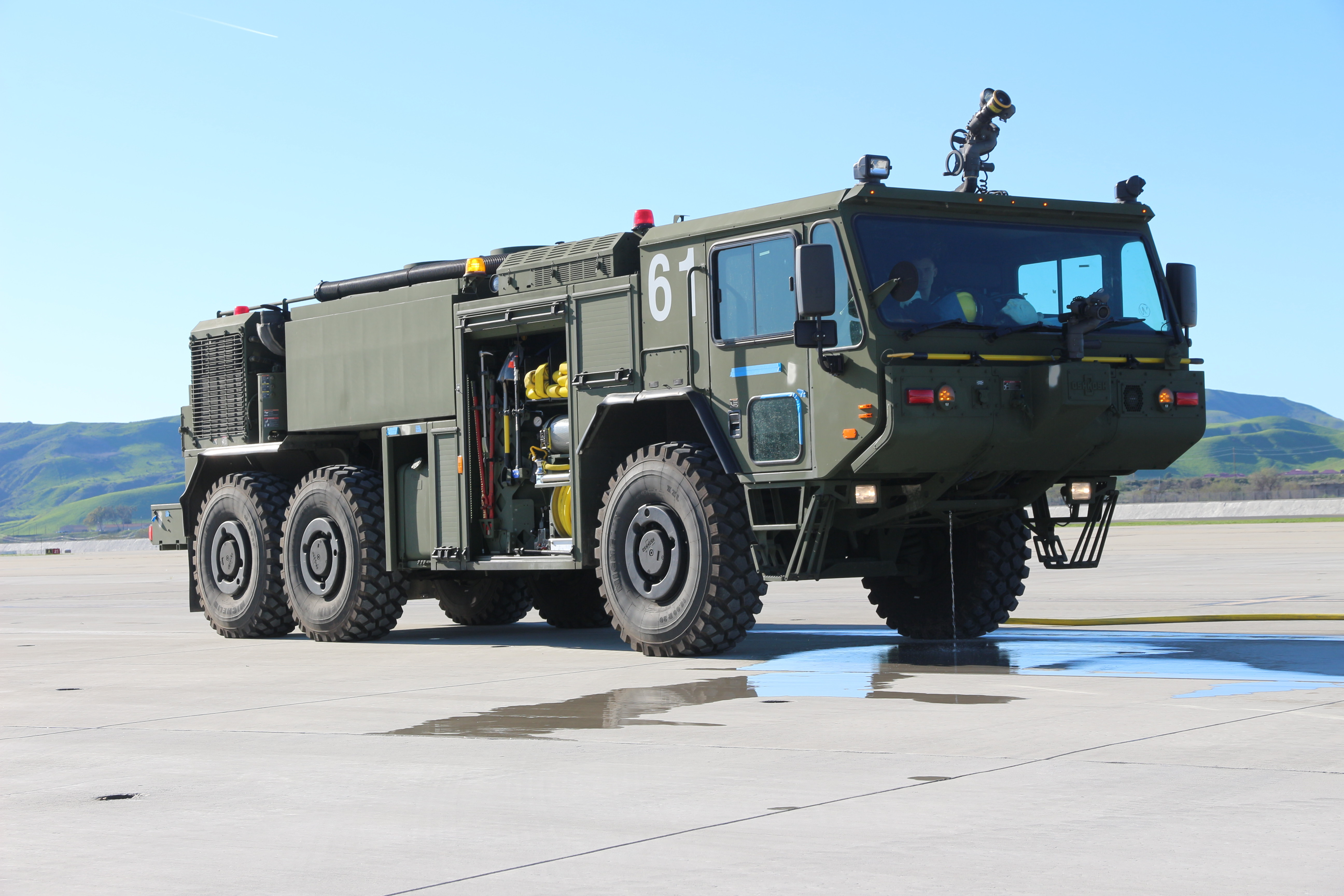 Off Road Fire Truck >> The Corps New Fire Truck Is Rolling Toward Foc