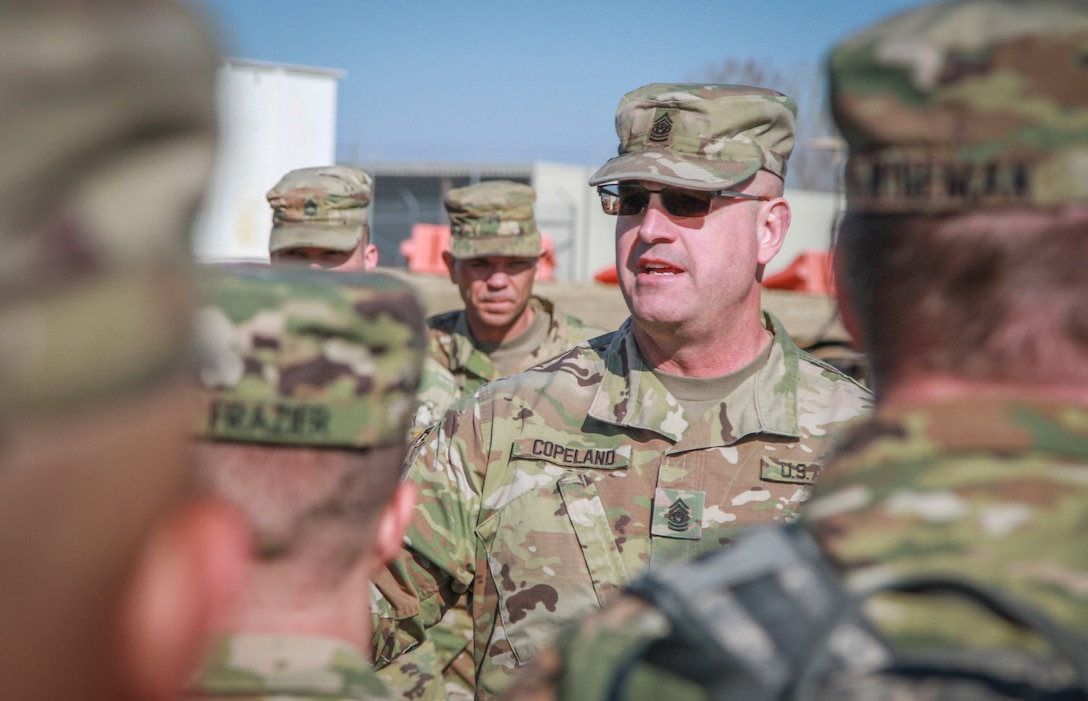 CSM Copeland at Operation Gauntlet