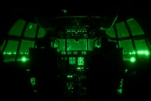 """U.S. Marine Corps 1st Lt. Susan Plunkett, left, and Capt. John Coutoumas prepare for take off in a KC-130J Super Hercules at Clark Air Base, Philippines, April 4, 2019, during Exercise Balikatan. Balikatan is an annual exercise between the U.S. and the Philippines and comes from a Tagalog phrase meaning """"shoulder-to-shoulder,"""" representing the partnership between the two countries. The exercise promotes regional security and humanitarian efforts for U.S. allies and partners. Plunkett and Coutoumas are KC-130 pilots with Marine Aerial Refueler Transport Squadron 152."""