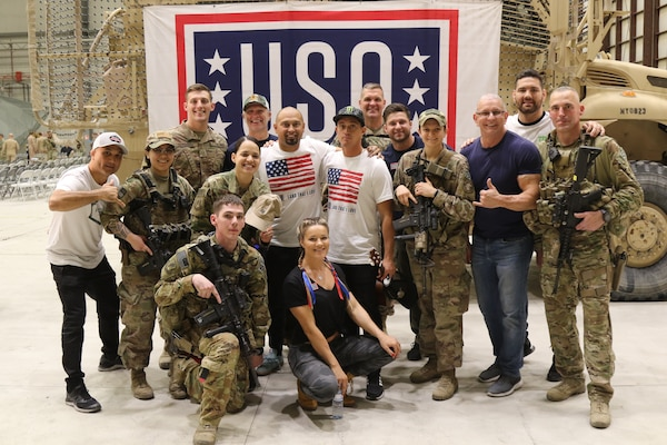USO Sprint Tour 2019 in Afghanistan