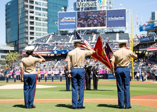 Padres host Military Appreciation Day