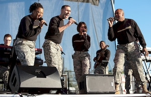 Army Band Downrange