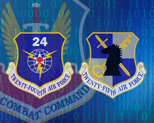 Air Combat Command is merging 24th and 24th numbered Air Forces at Joint Base San Antonio-Lackland this summer to better integrate cyber effects, intelligence, surveillance and reconnaissance operations, electronic warfare operations and information operations.