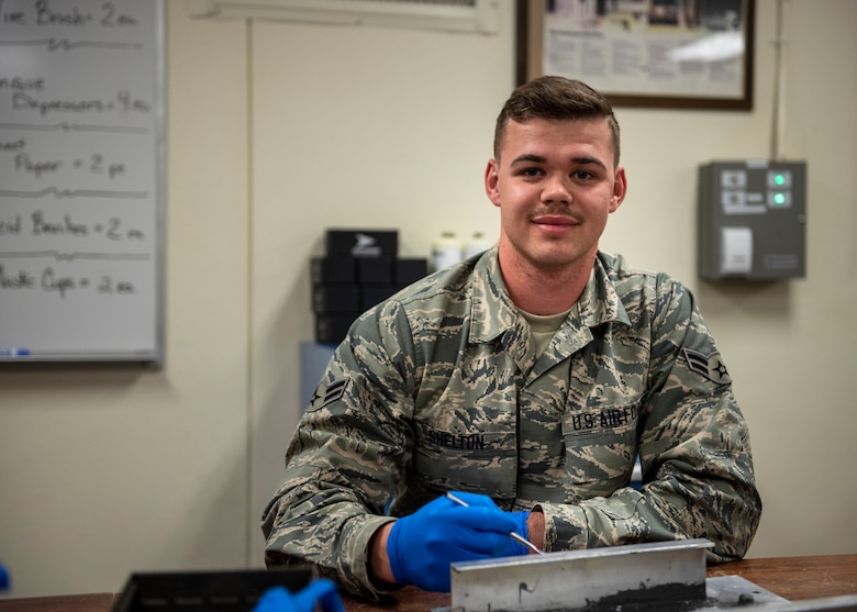 361st Fuels Airman receives ACE award