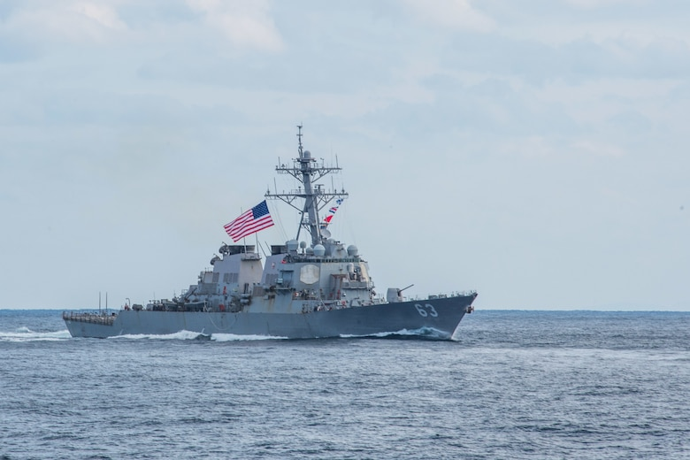 File photo of the Arleigh Burke-class guided-missile destroyer USS Stethem (DDG 63).