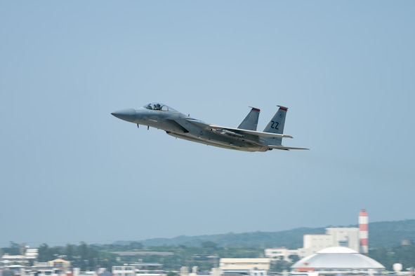 Kadena F-15Cs take flight