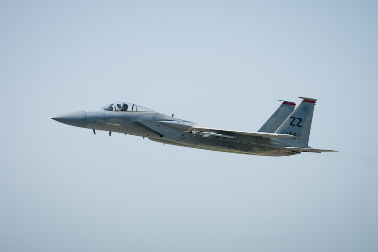 Kadena F-15Cs take flight