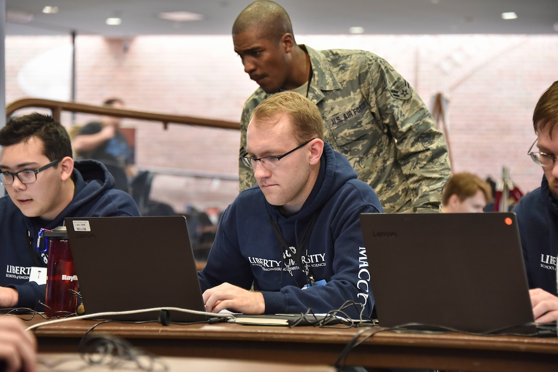Members assigned to the 275th Cyber Operations Group, Maryland Air National Guard, participated in the 14th Annual Mid-Atlantic Collegiate Cyber Defense Competition Regional Finals, March 29, 2019 at Johns Hopkins Applied Physics Laboratory, Laurel, Md. The 275th COG has participated in the competition for over four years in different capacities.