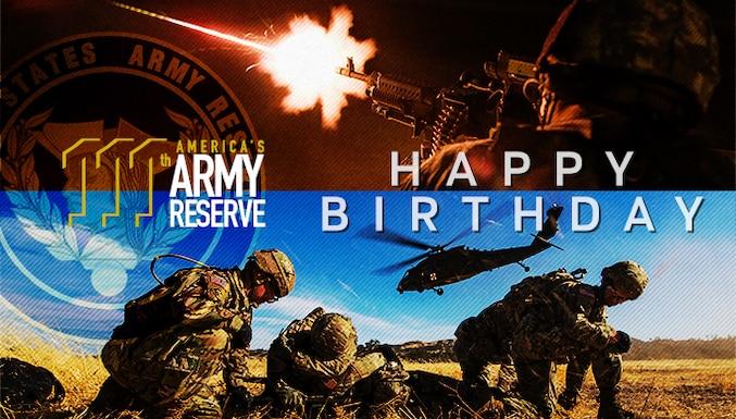 Army Reserve Birthday