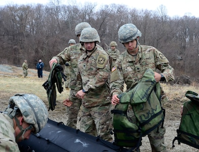 Enlisted ROTC cadet brings skills to competition