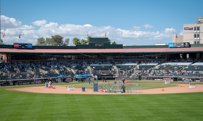 The 2019 Desert Dog Trails were held April 4 – 7 at Scottsdale Stadium, Scottsdale, Ariz.