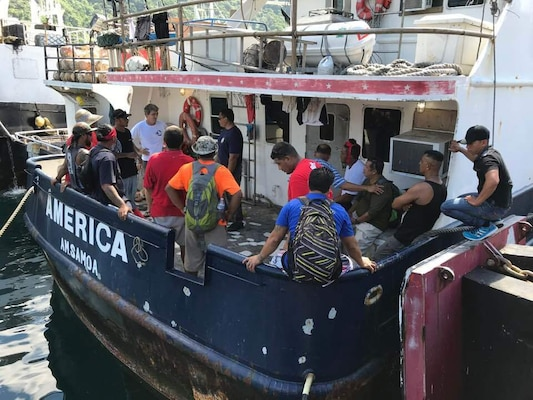 Coast Guard, Partners Conduct Fishing Vessel Safety Workshop in American Samoa