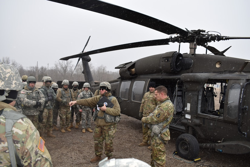 100th Training Division Conducts Unique Field Training Exercise