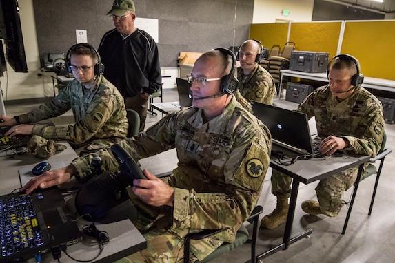 Sergeants major at Cold Steel III