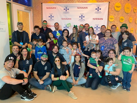 "The Society of Hispanic Professional Engineers leads community outreach ""Shamrock Science at the Museum"" event"