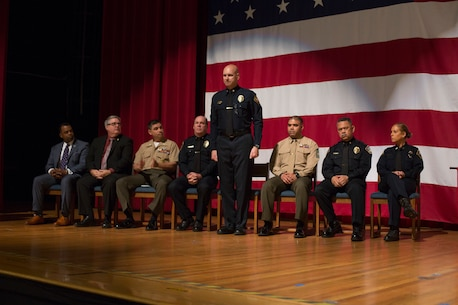 Earning their badge: Marine Corps Police Academy West graduation