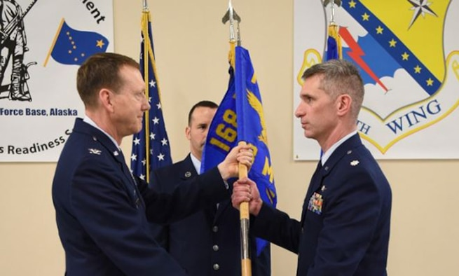 MSG Change of Command