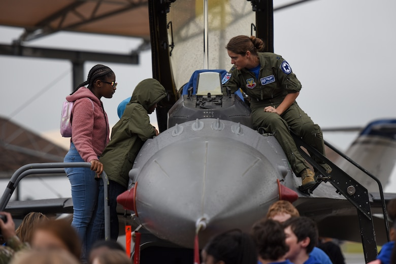 More than 2,000 students and teachers from South Carolina participate in science, technology, engineering and mathematics events during McEntire STEM Day, hosted by the South Carolina National Guard