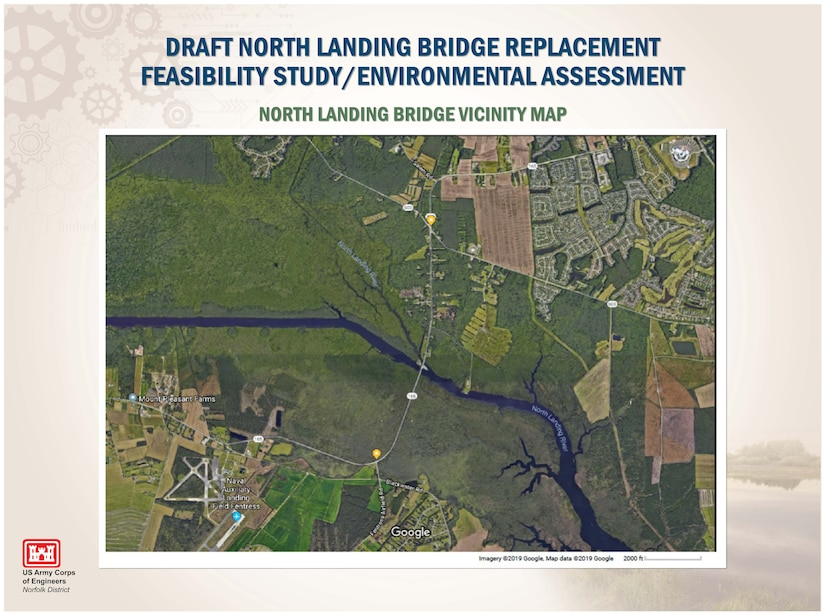 NORTH LANDING BRIDGE VICINITY MAP
