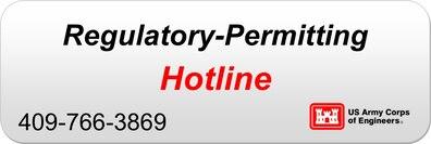 Regulatory Permitting Hotline