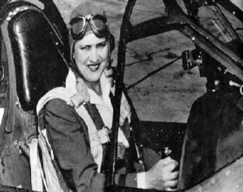 Lt. Col Jacqueline Cochran poses for a photo. (Courtesy Photo)
