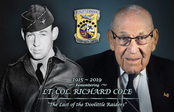 Lt Col Cole, Doolittle Raider, ACC, AETC, Air Combat Command, WWII, Air Force Legend, Legacy of Valor, Airmen, We Are Wingmen