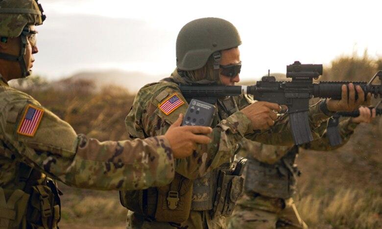 Sgt. Torres runs the line