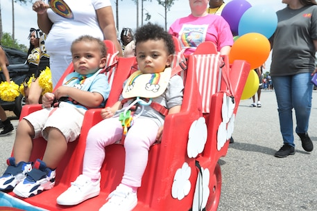 Marine Corps Logistics Base Albany celebrated our most prized little heroes during the annual Month of the Military Child proclamation and parade, April 12. (U.S. Marine Corps photo by Re-Essa Buckels)