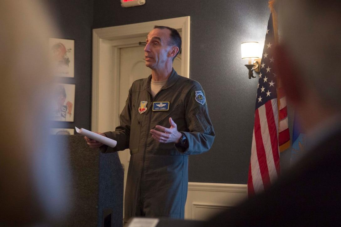 Ninth AF commander reblues retired senior leaders at bi-annual forum