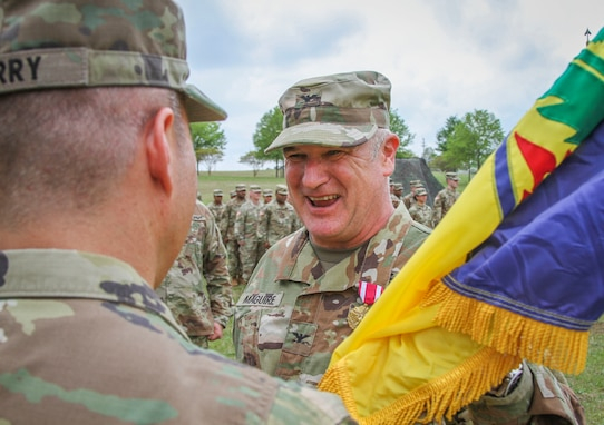 Army Reserve Chemical Brigade changes commanders