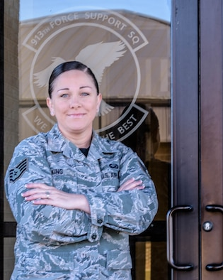 She was awarded the 2018 Air Force Recruiting force support award for the central region on Jan. 24, 2019, at Little Rock Air Force Base, Arkansas.