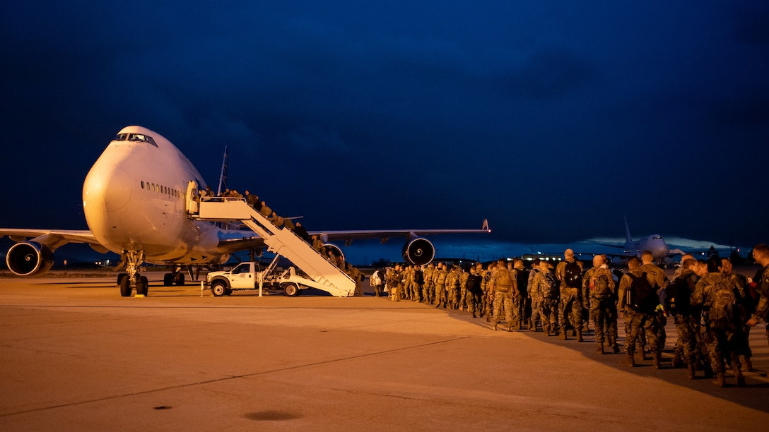 Airmen in the 388th and 419th Fighter Wings arrived at Al Dhafra Air Base in the United Arab Emirates this week to support the Air Force Central Command mission. (United States Air Force photo by R. Nial Bradshaw)