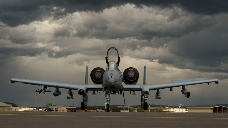 Pilots and maintainers from the 124th Fighter Wing at Gowen Field in Boise, Idaho prepare for Red Flag Alaska, June 8, 2018 at Eielson Air Force Base, Alaska