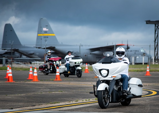 Motorcycle safety rally