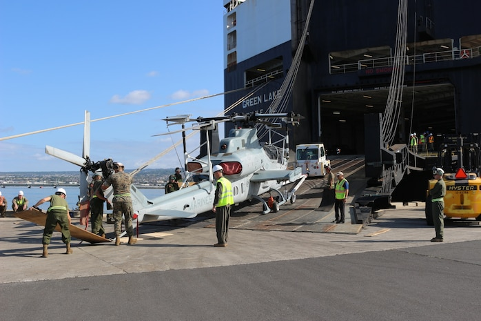 599th Transportation Brigade Supports Army, Marine Corps at Pearl Harbor