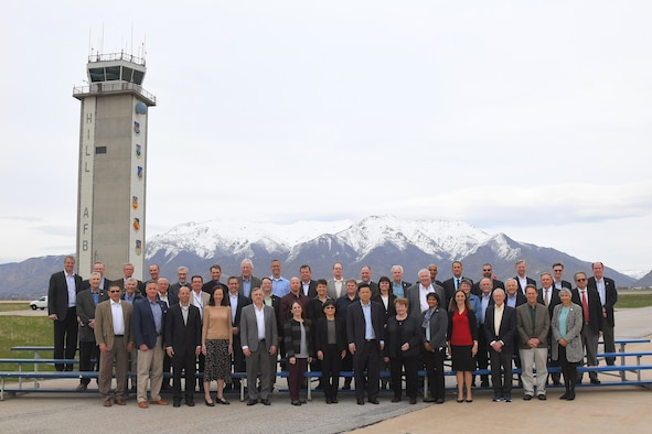 The Air Force Scientific Advisory Board (SAB) during its spring session April 8, 2019, at Hill Air Force Base, Utah. The SAB is made up of some the nation's leading experts in science, technology and engineering and provides advice on matters of science and technology relating to the Air Force mission. (U.S. Air Force photo by Todd Cromar)
