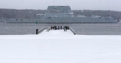USS Zumwalt's Successful Sea Trial