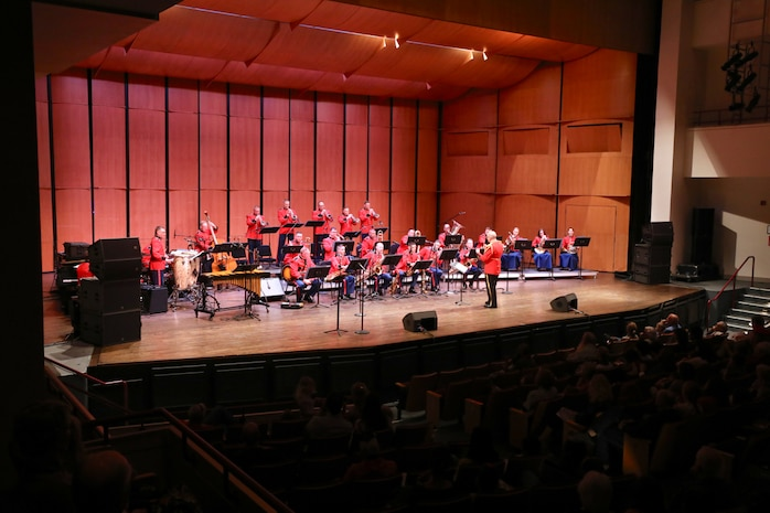 "On April 7, 2019, kids of all ages were swinging in their seats as ""The President's Own"" United States Marine Band demonstrated the incredible sound of big band music!"