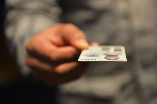 Anyone who possesses a common access card, or CAC, must keep it safeguarded and not allow it to be duplicated or photographed. According to Title 18, U.S. Code Part I, Chapter 33, Section 701, it is illegal for a commercial establishment to photocopy a military identification card as a means to verify military affiliation for providing government rates or discounts on products or services.