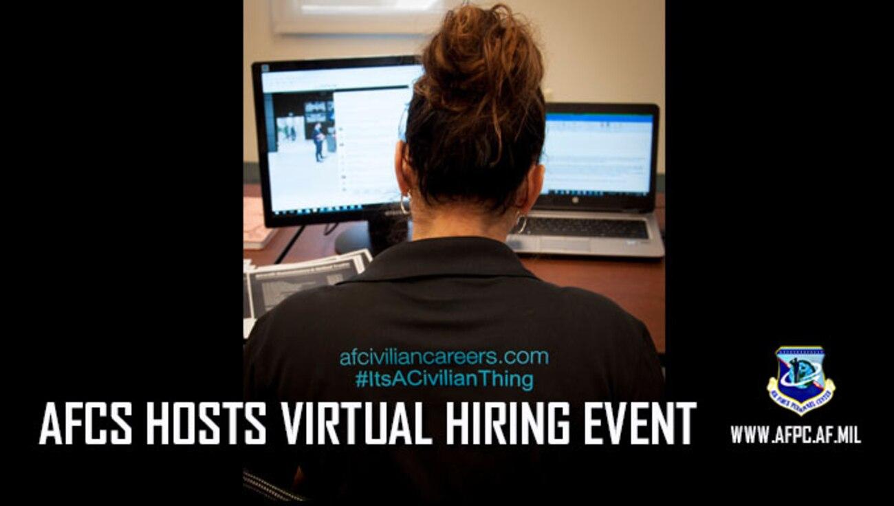 AFCS hosts Virtual Hiring Event