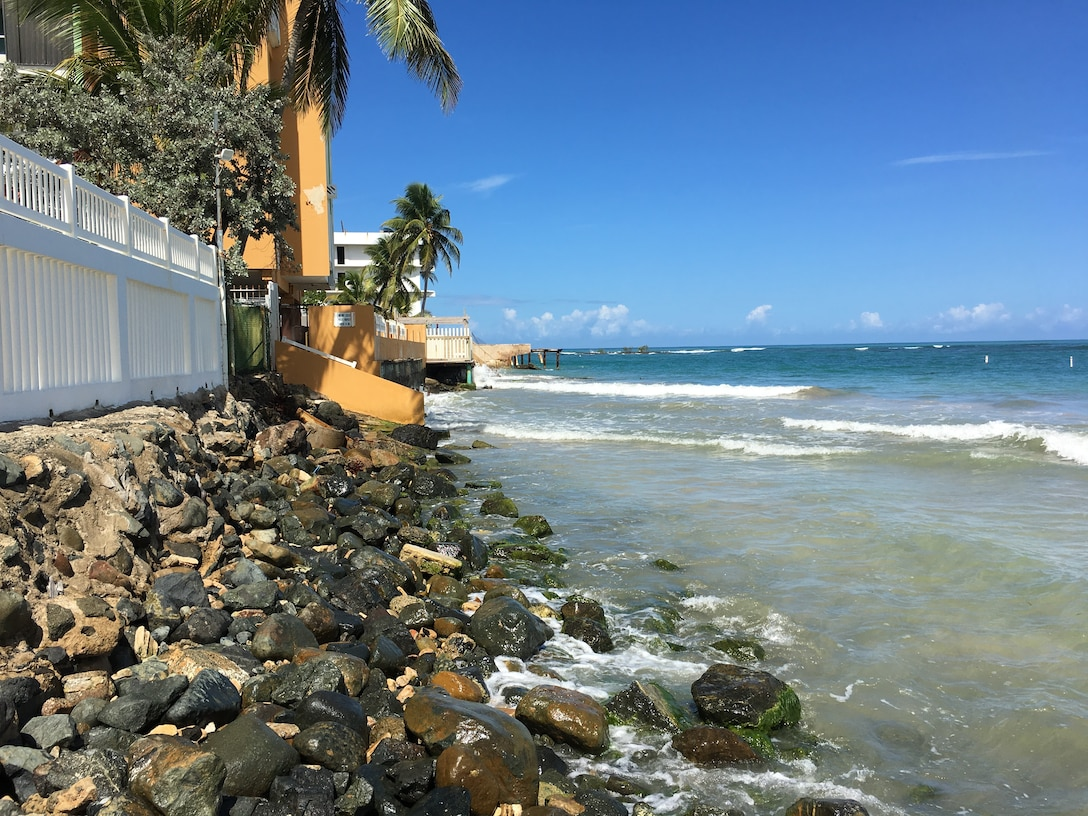 coastal rocks in San Juan