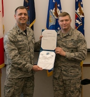 Storms Promoted to Senior Airman