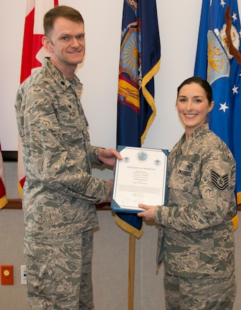 Alcorta Promoted to Master Sergeant