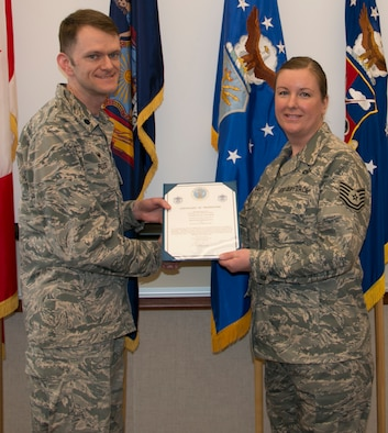 Palmer Promoted to Master Sgt