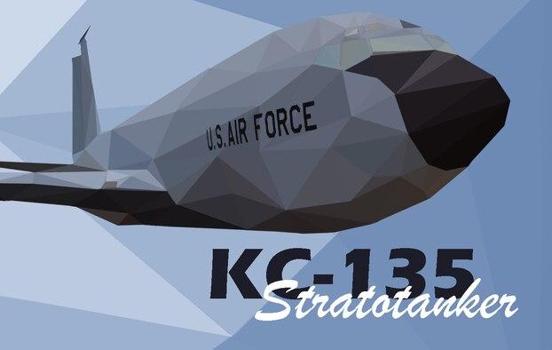 KC-135 Stratotanker Polyart