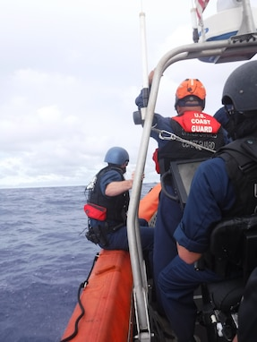 U.S. Coast Guard Patrols Micronesian Waters in Support of Forum Fisheries Agency Operation Rai Balang 2019 to Counter Illegal Fishing