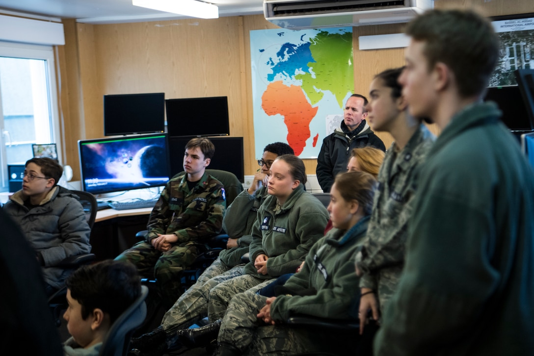 Find out how the Civil Air Patrol Ramstein Cadet Squadron became the largest squadron outside the continental United States.