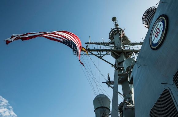 USS Porter Return to home Port