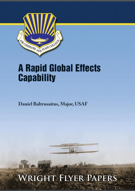Cover Image for Wright Flyer paper:  A Rapid Global Effects Capability